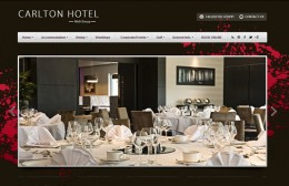 Carlton Hotel Prestwick Website Design Image 1
