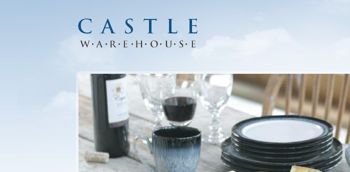Castle Warehouse Website Design Image 1