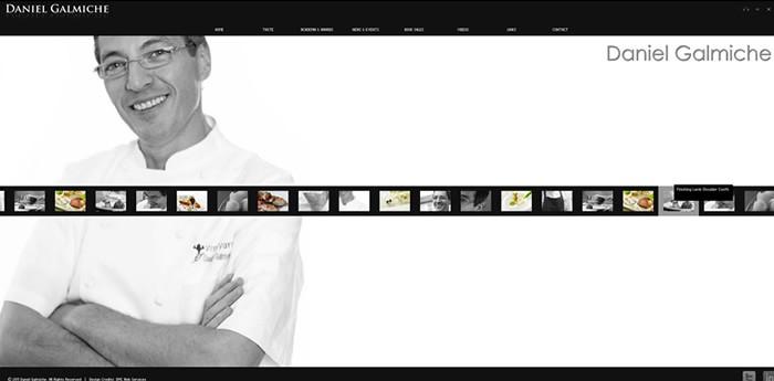 Daniel Galmiche Website Design Image 1