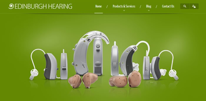 Edinburgh Hearing Website Design Image 1