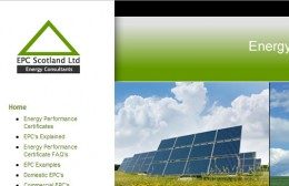 EPC Scotland Website Design Image 1