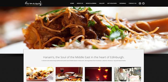 Hanams Restaurant, Edinburgh