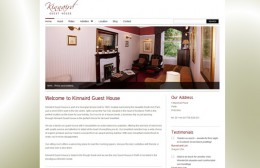 Kinnaird Guest House Website Design Image 1