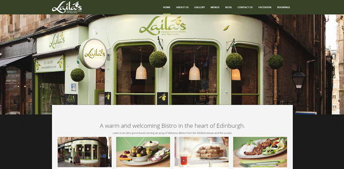 Lailas Bistro Edinburgh