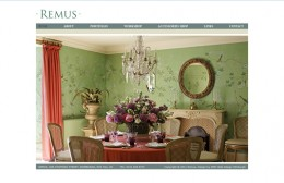 Remus Interiors Website Design Image 1