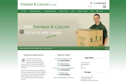 Callan Removals Website Design Image 1