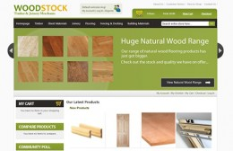 Woodstock Timber Website Design Image 1
