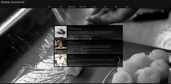 Daniel Galmiche Website Design Image 2
