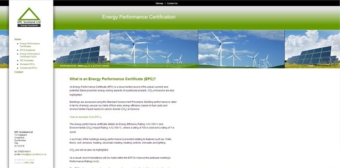 EPC Scotland Website Design Image 2