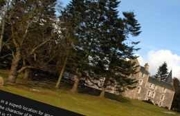Fernie Castle Hotel Website Design Image 1
