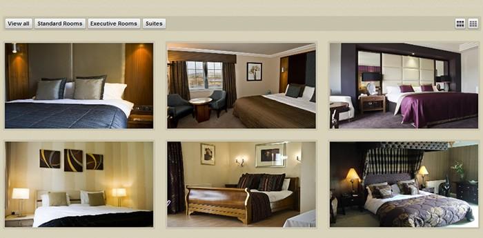 Lochside Hotel Website Design Image 2