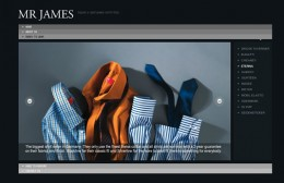 Mr James Website Design Image 1
