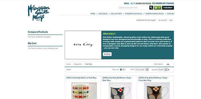 McLaggan Smith Mugs Website Design Image 3