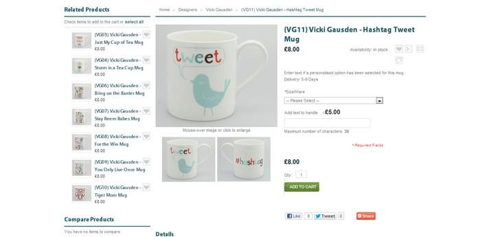 McLaggan Smith Mugs Website Design Image 4