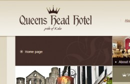 Queens Head Hotel Kelso Website Design Image 3