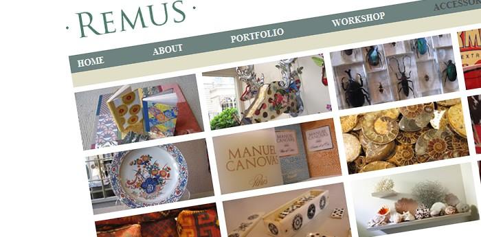 Remus Interiors Website Design Image 3