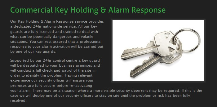 U N Security Services Website Design Image 2
